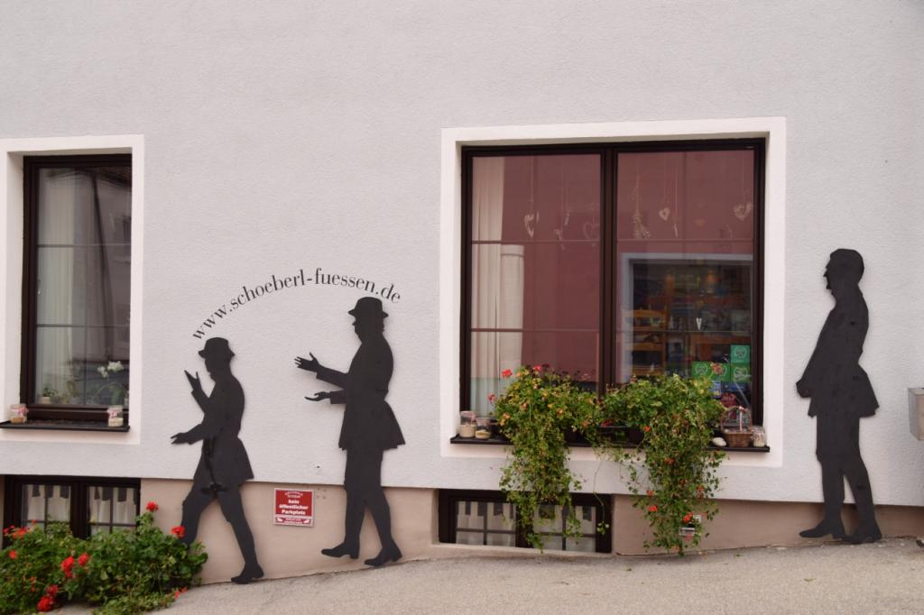 ドイツ、フュッセンのウォールアート