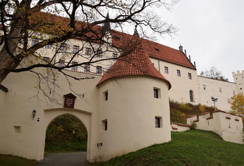 ドイツ、フュッセンのホーエン城