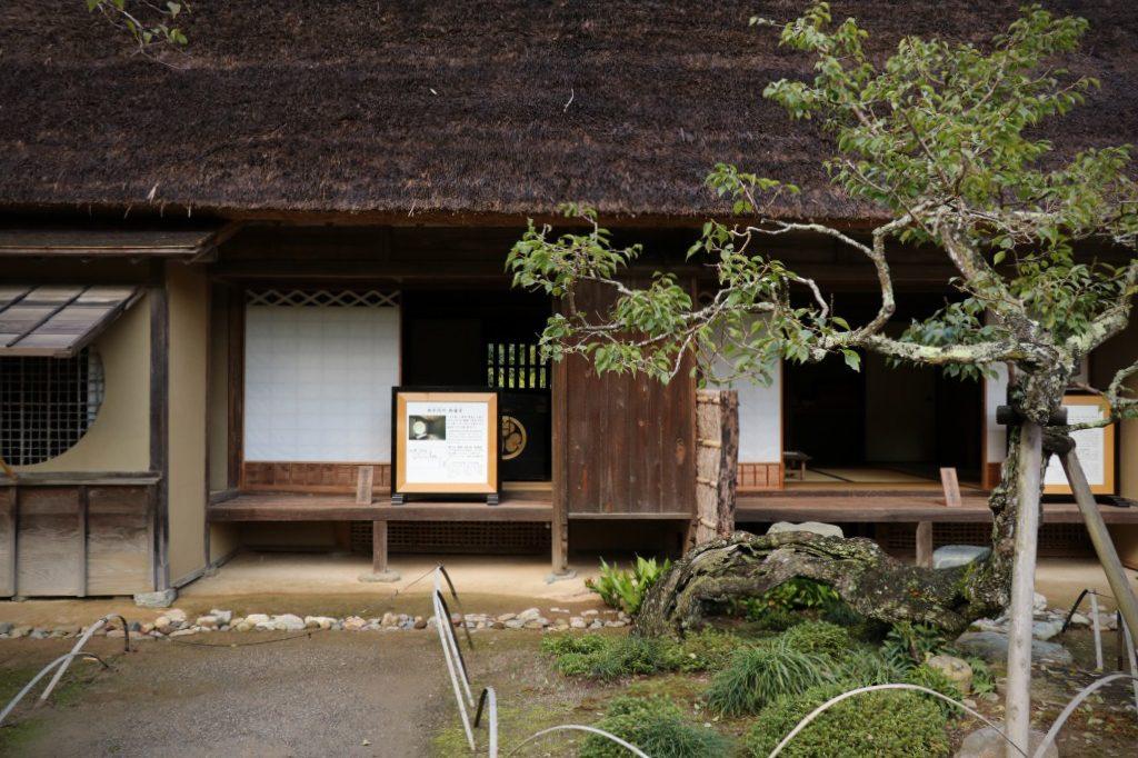 茨城県、西山荘にある御学問所・御寝室