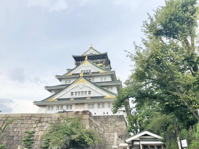 大阪府、大阪城の天守閣