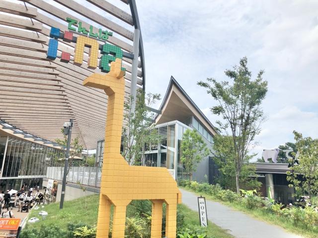 大阪府、天王寺動物園inaのキリン