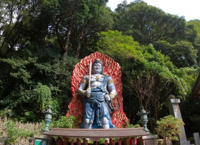 福岡県、南蔵院の大聖不動明王