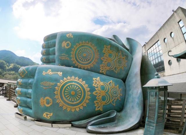 福岡県、南蔵院でお参り出来る足の裏