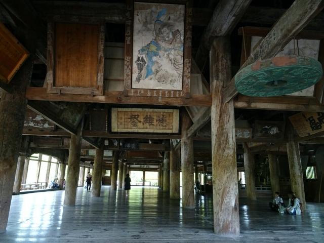 広島県、豊国神社の千畳閣